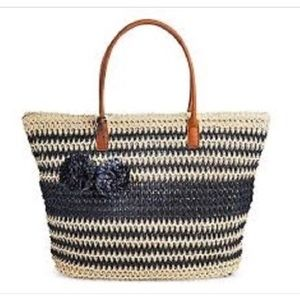 NWT Straw tote